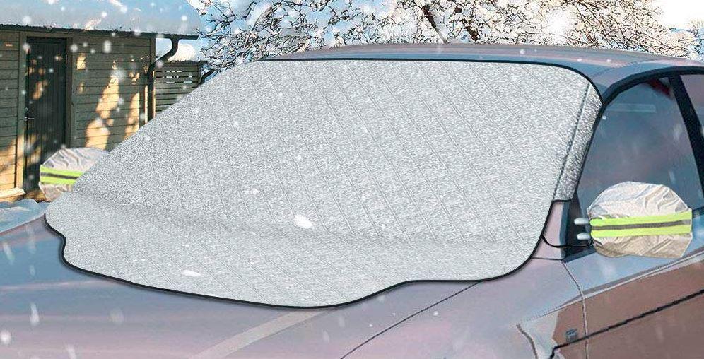 Auto Frontscheibenabdeckung THERMO Abdeckung Eis SCHEIBENABDECKUNG Magnetisch
